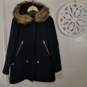 J.crew size 8 wool coat